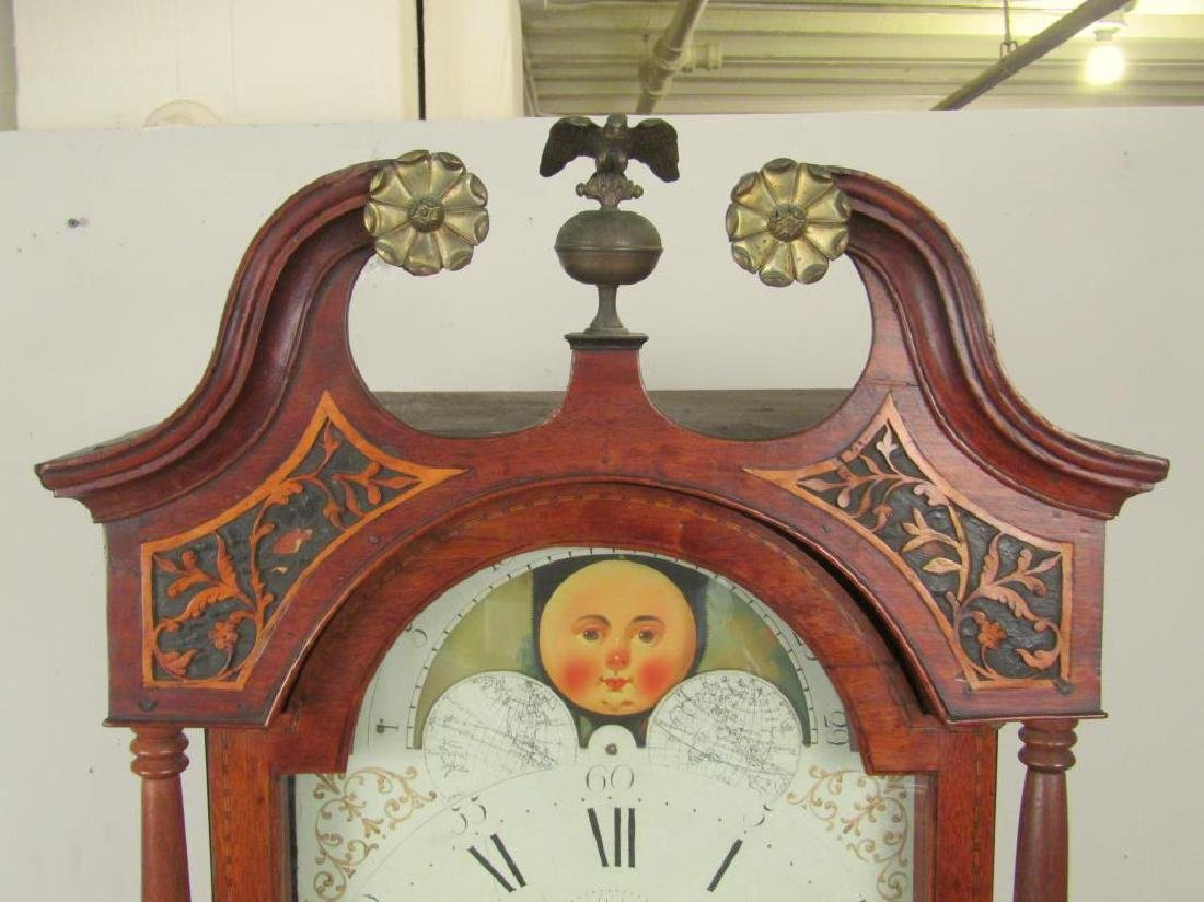 Antique English Tall Case Clock - 2