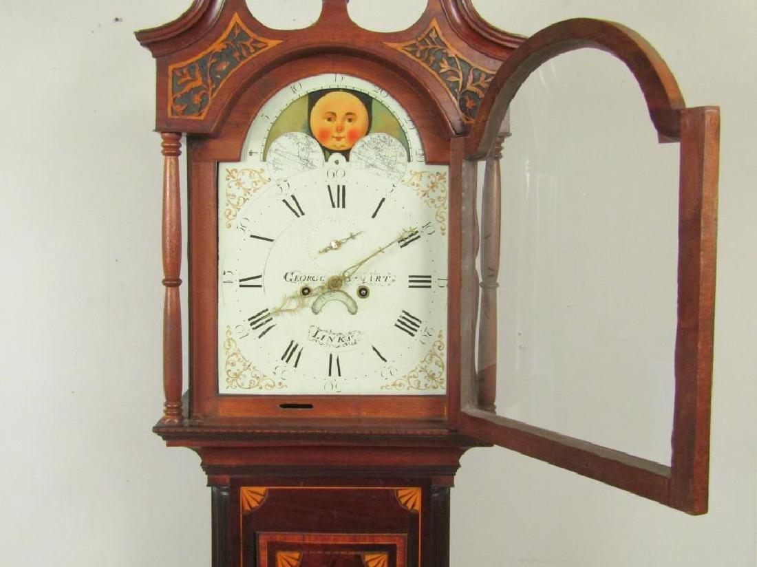 Antique English Tall Case Clock - 3