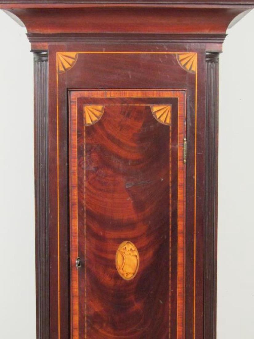 Antique English Tall Case Clock - 5
