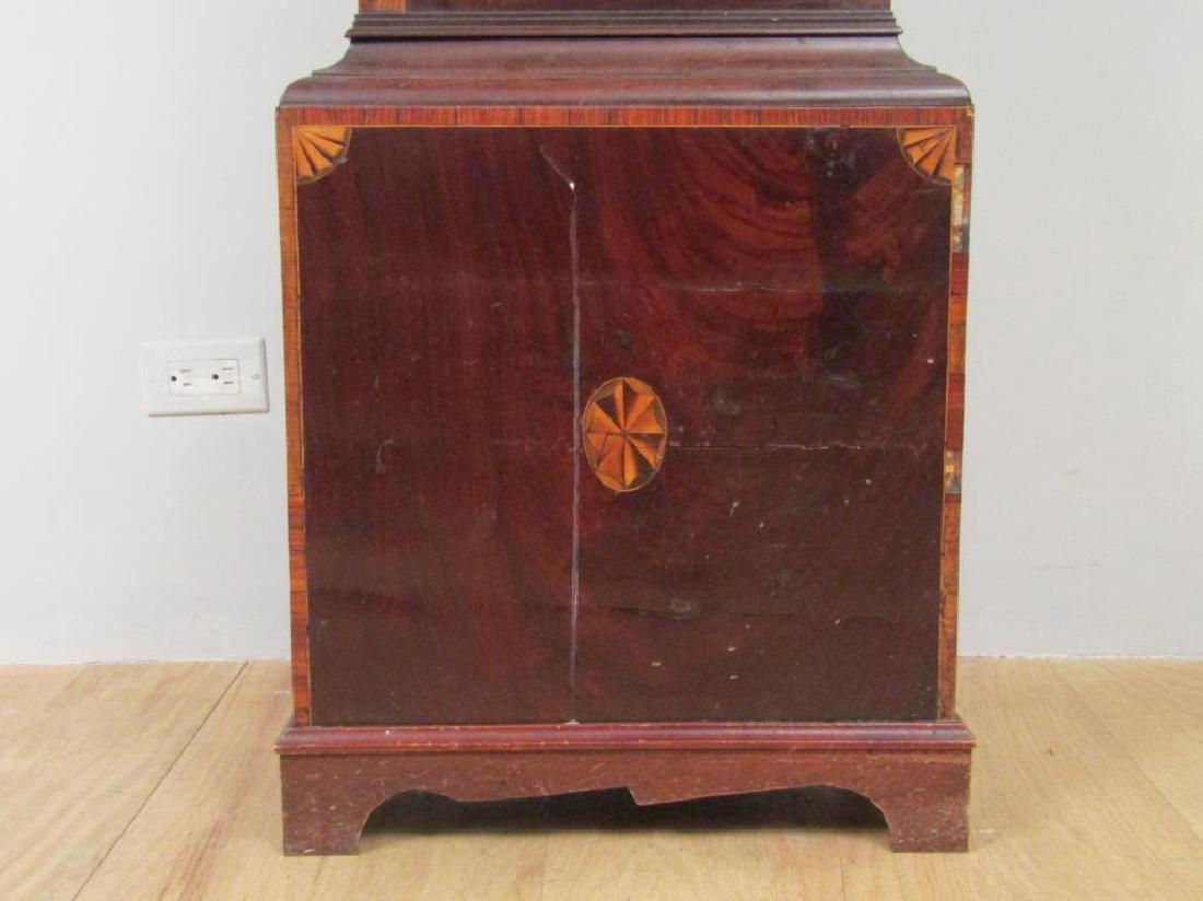 Antique English Tall Case Clock - 6