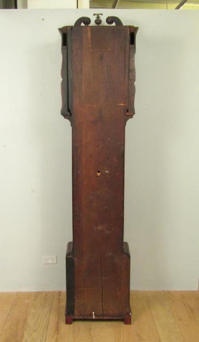 Antique English Tall Case Clock - 8