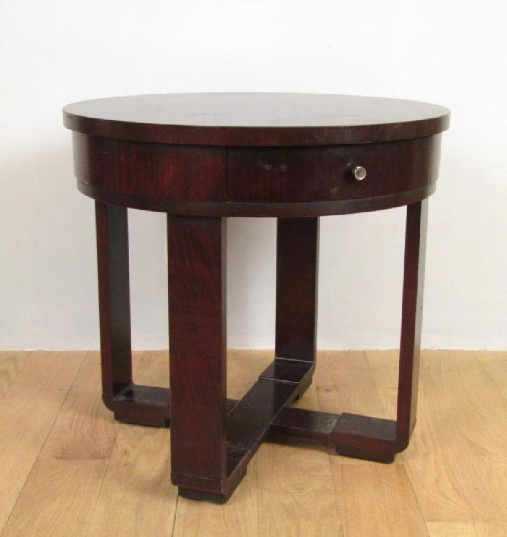 Ralph Lauren Art Deco Style Lamp Table