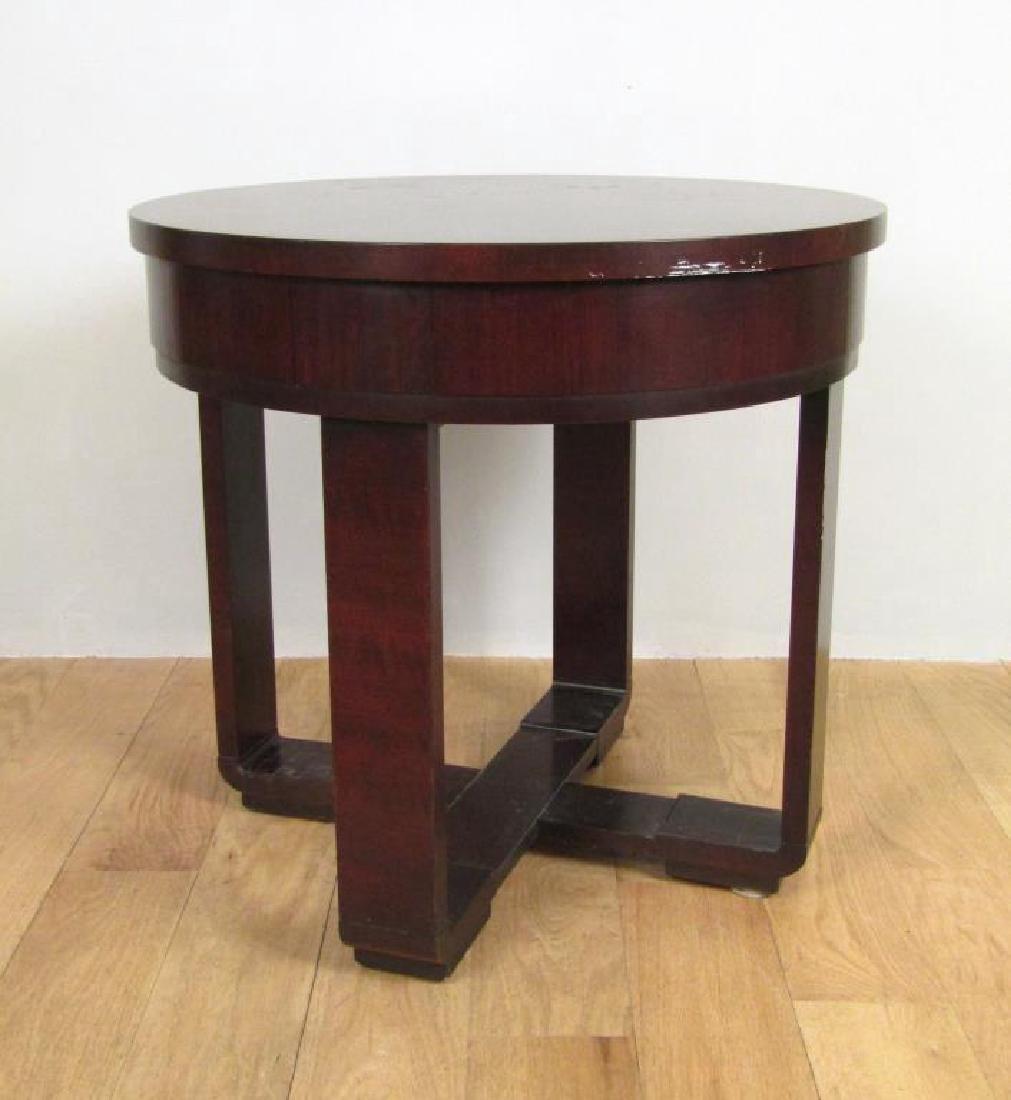 Ralph Lauren Art Deco Style Lamp Table - 2