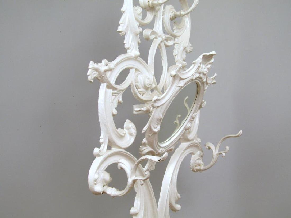 Victorian Style Painted Metal Hall Stand - 4