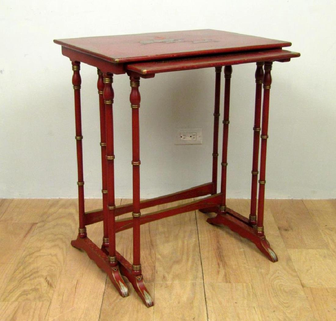 Set of 2 Chinese Nesting Tables