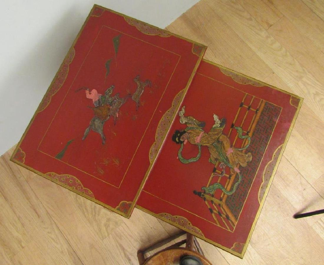 Set of 2 Chinese Nesting Tables - 2