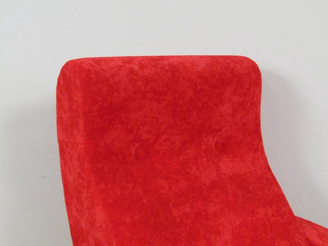 Pair Mid Century Style Arm Chairs - 3