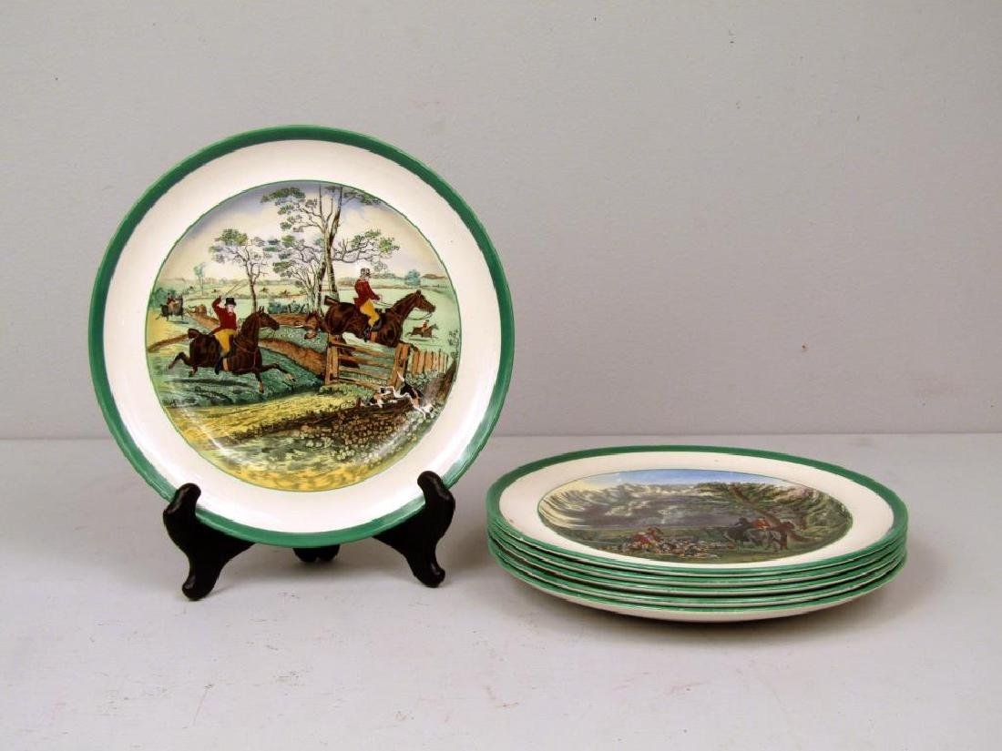 Set of 6 Spode Porcelain Plates
