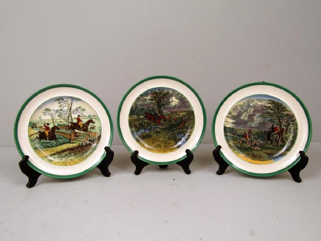 Set of 6 Spode Porcelain Plates - 2
