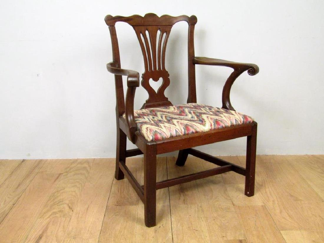 Antique English Nursing Arm Chair