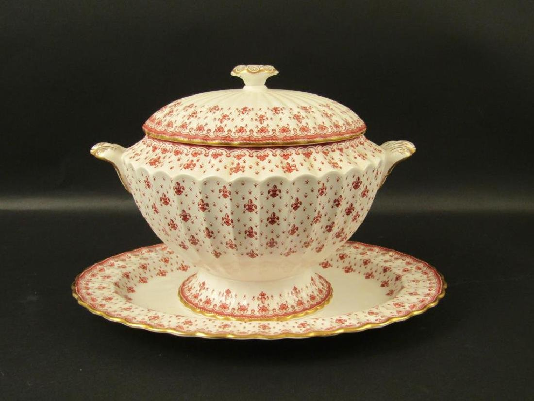 Spode Tureen and Under Plate
