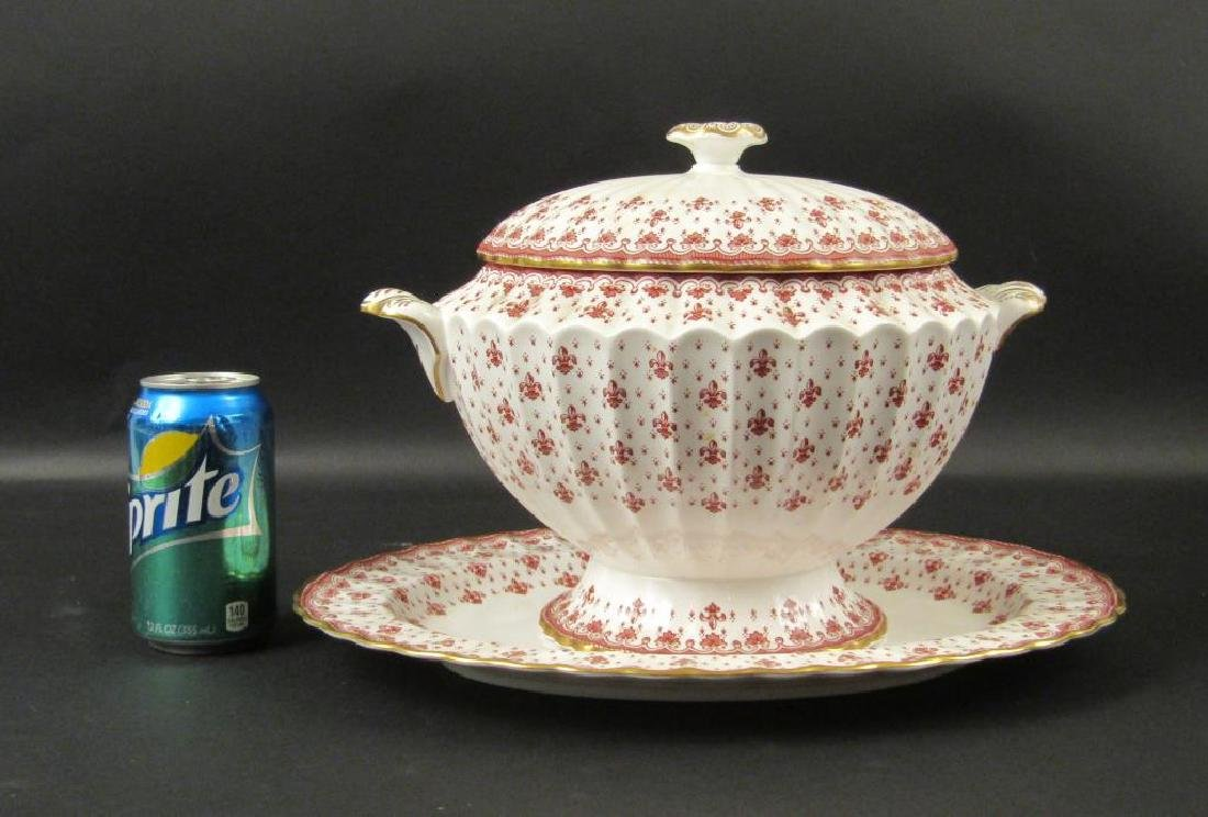Spode Tureen and Under Plate - 2
