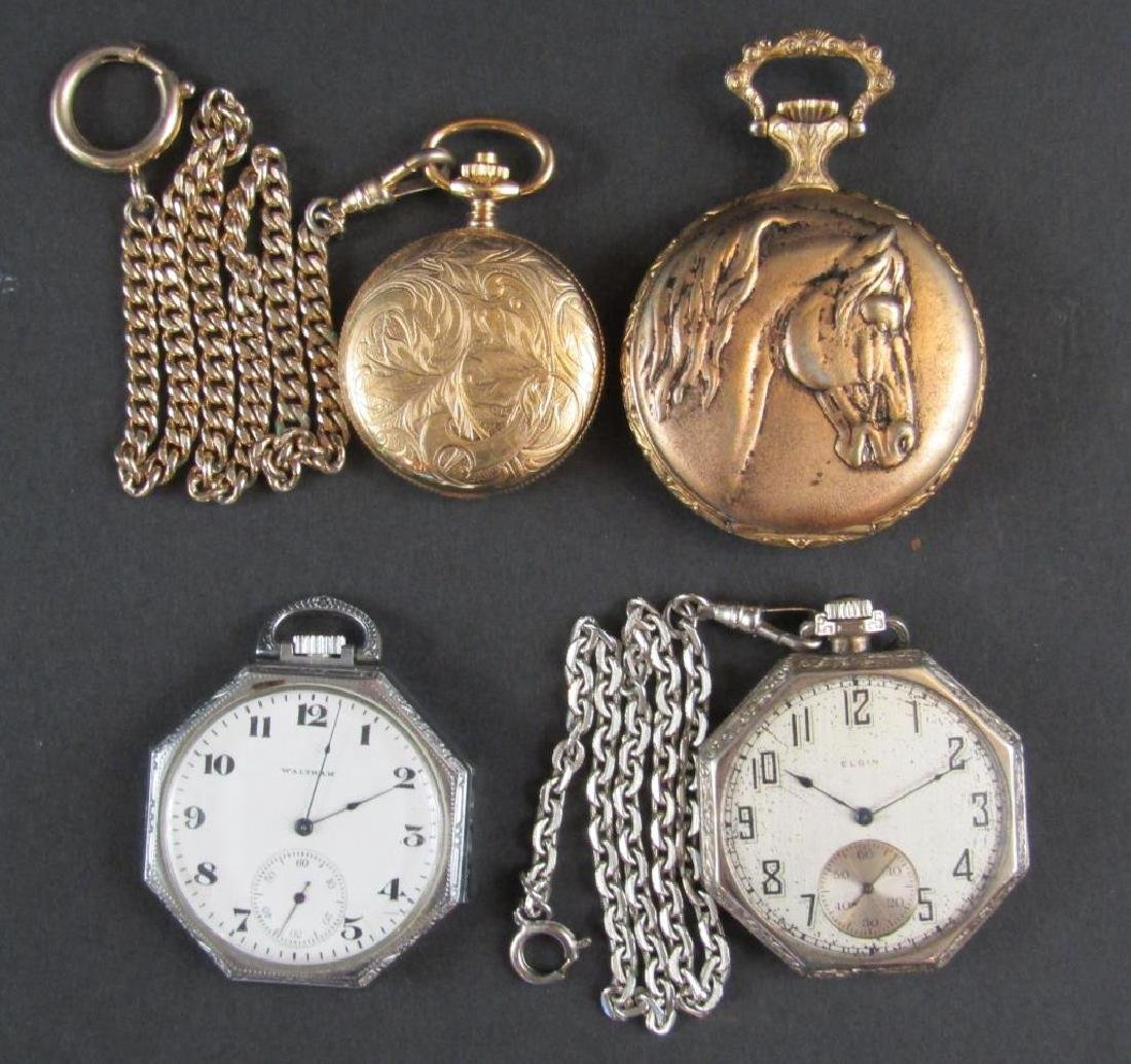 4 Pocket Watches