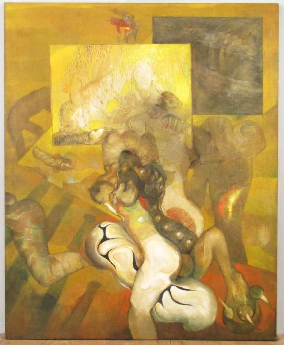 Gerardo Chavez - Oil on Canvas