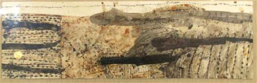 Signed Glasco - Mixed Media - Abstract