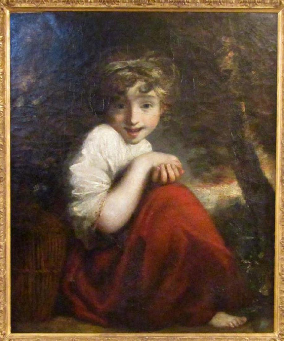 After Sir Joshua Reynolds - Oil on Canvas