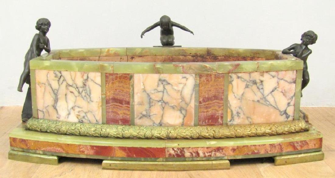 Dimitri Chiparus (1886-1947) - Sculpture / Planter