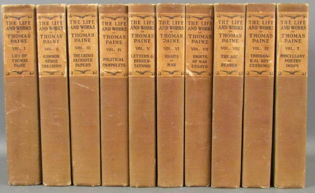 the life and work of thomas paine Thomas paine and common sense thomas paine was born in england in 1737 he was the son of uneducated english farmers.