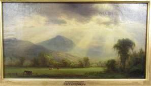 Attr. Jasper F. Cropsey - Oil on Canvas