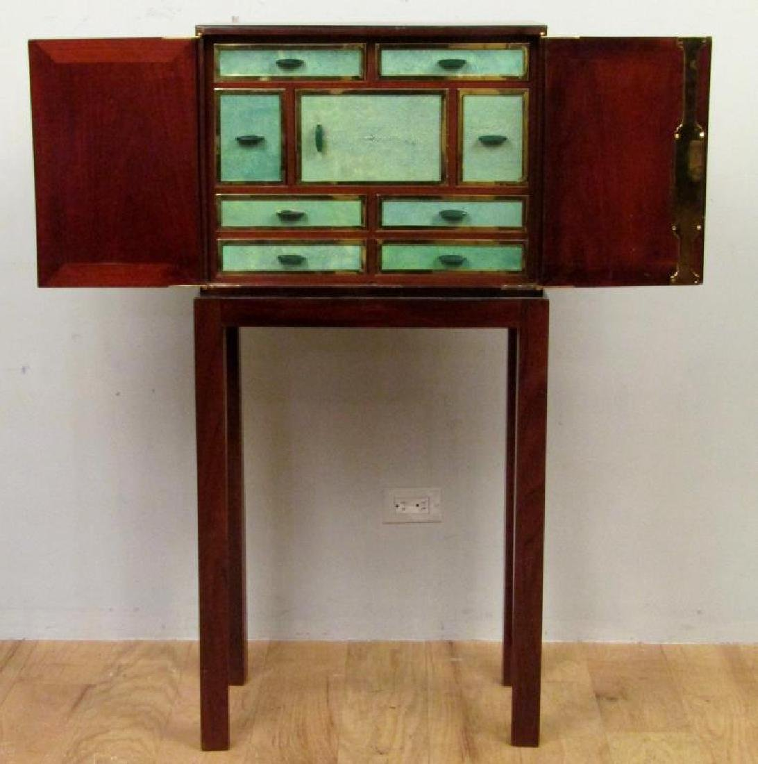 French Art Deco Shagreen Fronted Cabinet