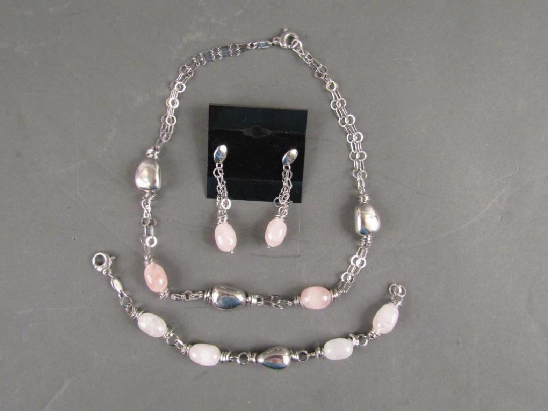 Makuti Sterling Silver Jewelry Suite