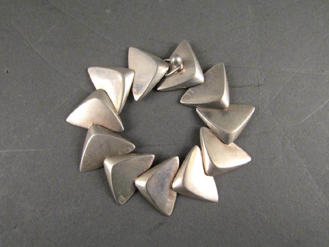 Danish Silver Bracelet - Hans Hansen