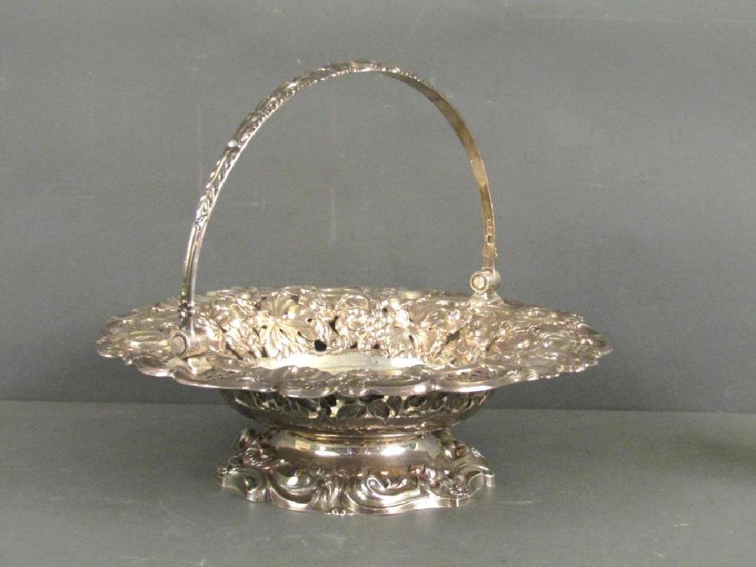 Antique English Silver George IV Bowl