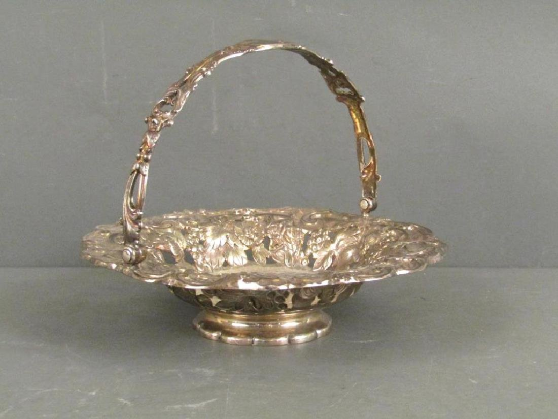 Antique English Silver George IV Bowl