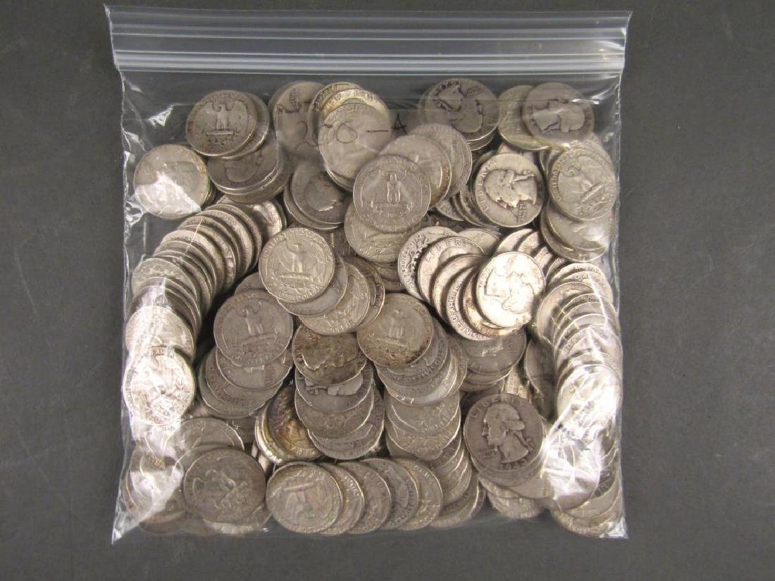 Approx 200 US Silver Quarters