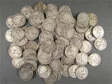79 - US Silver Morgan Half Dollars