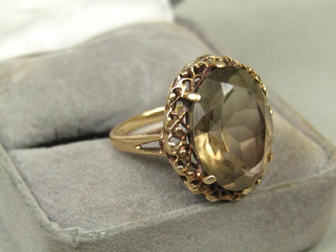 10K Gold Ring - 2