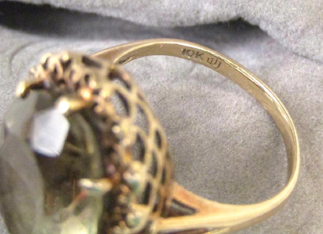 10K Gold Ring - 4