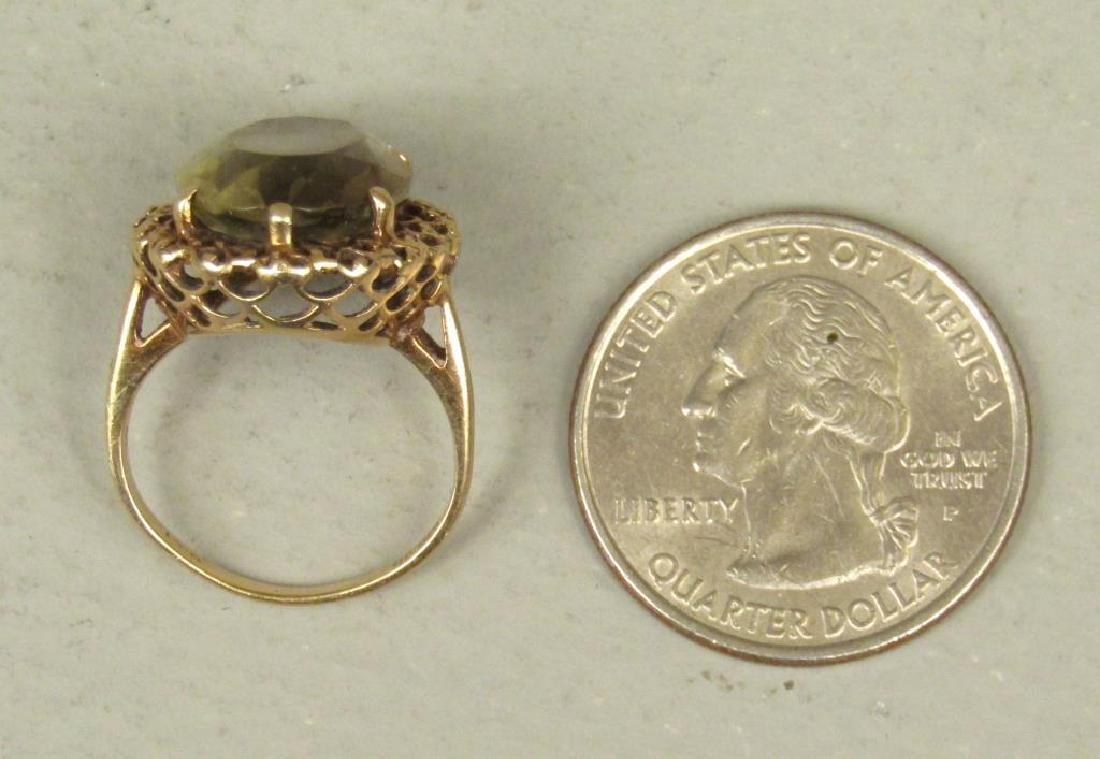10K Gold Ring - 5