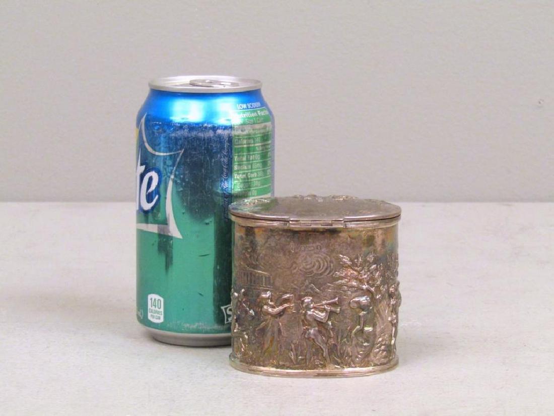 Small English Silver Box - 2