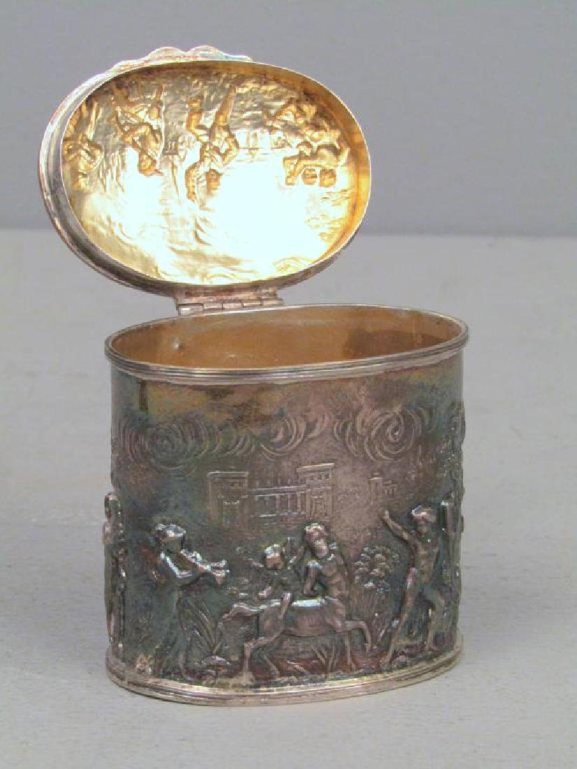 Small English Silver Box - 4