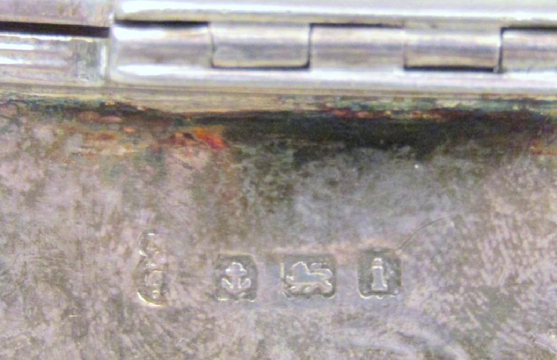 Small English Silver Box - 6