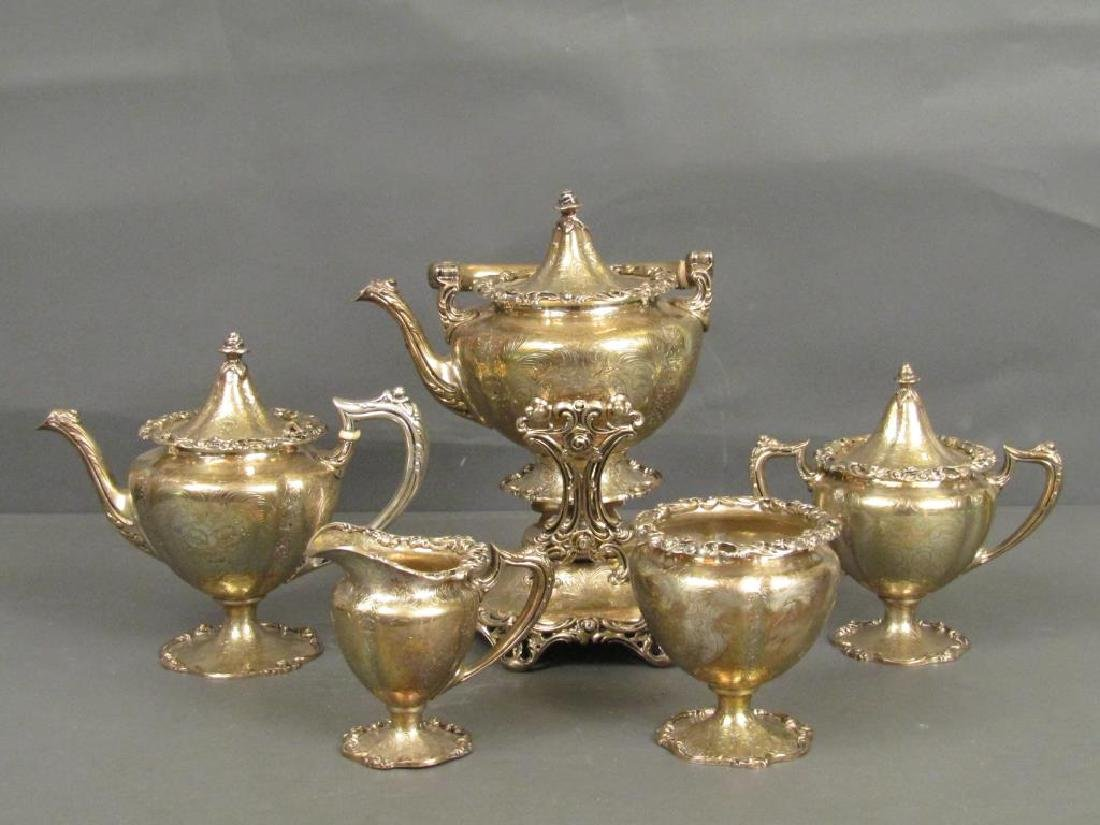 5 Piece Sterling Silver Coffee Service