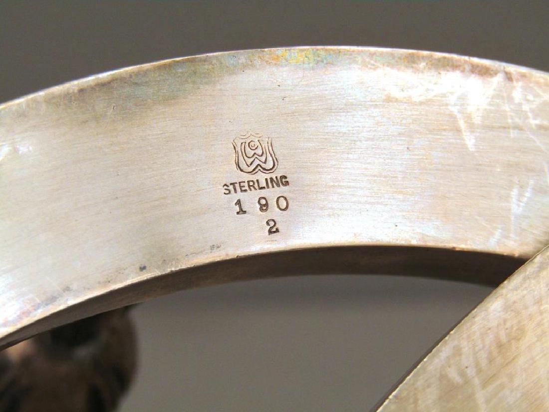 Mid Century Sterling Silver 2 Part Centerpiece - 6