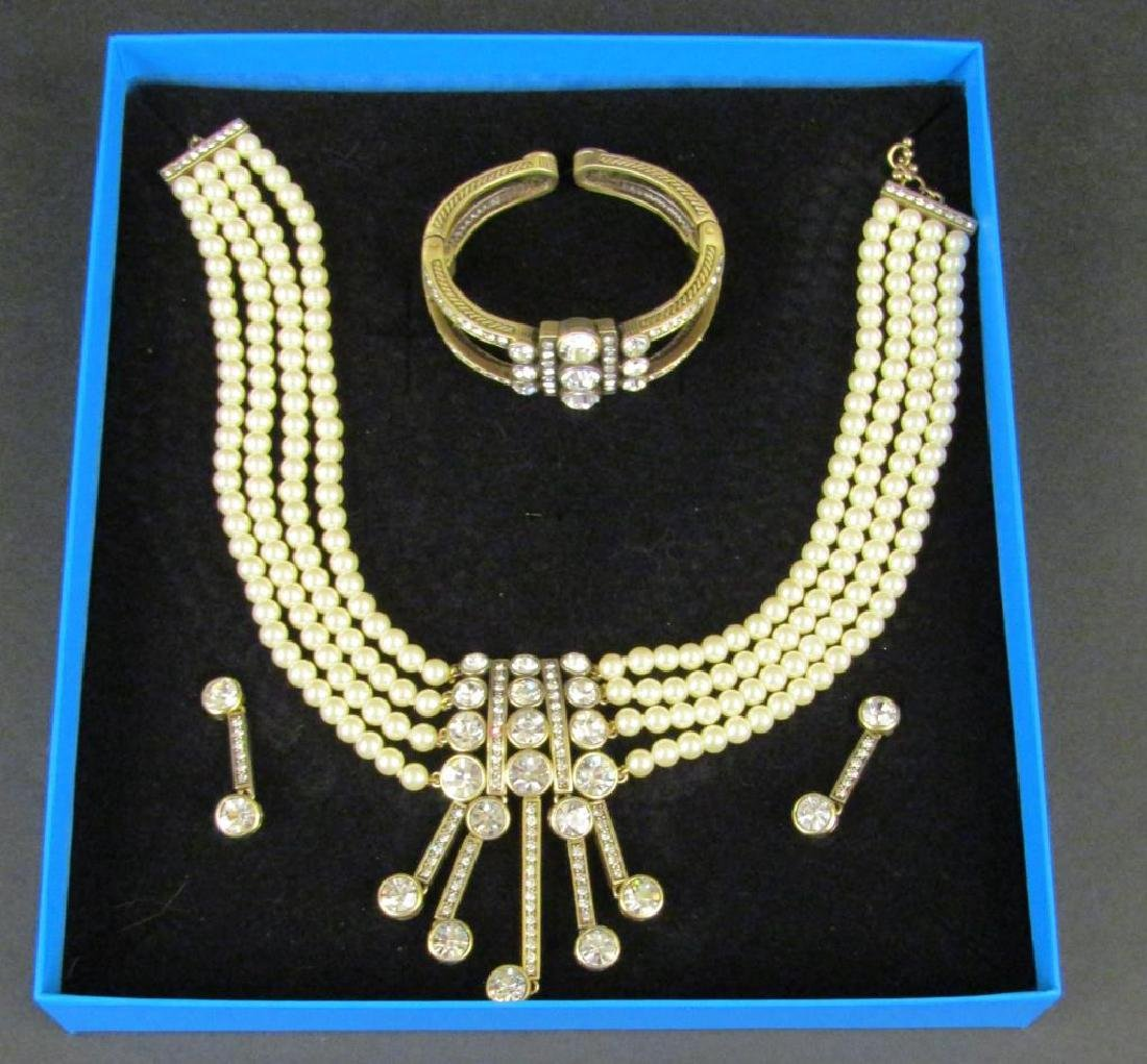 Heidi Daus Costume Jewelry Suite