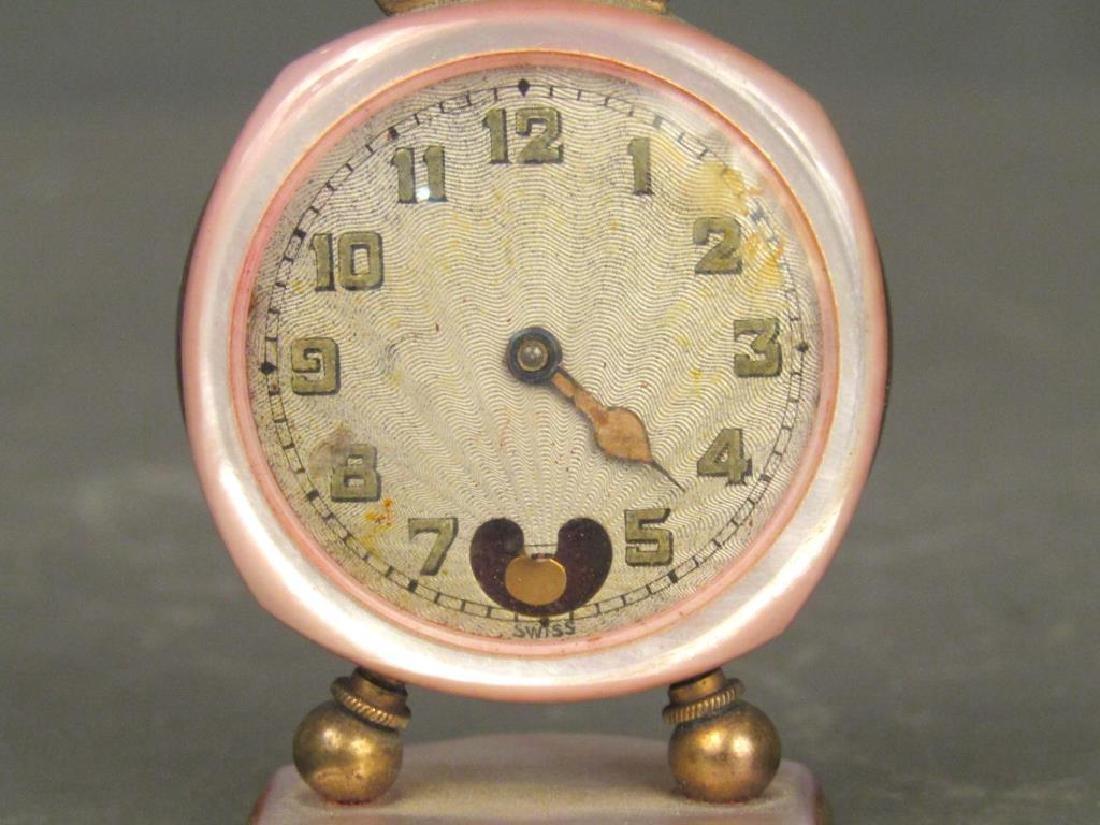 2 Brevet / Metal Dore Clocks - 2