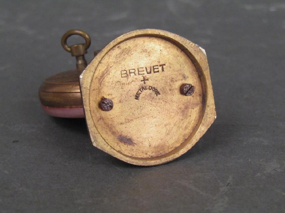 2 Brevet / Metal Dore Clocks - 4