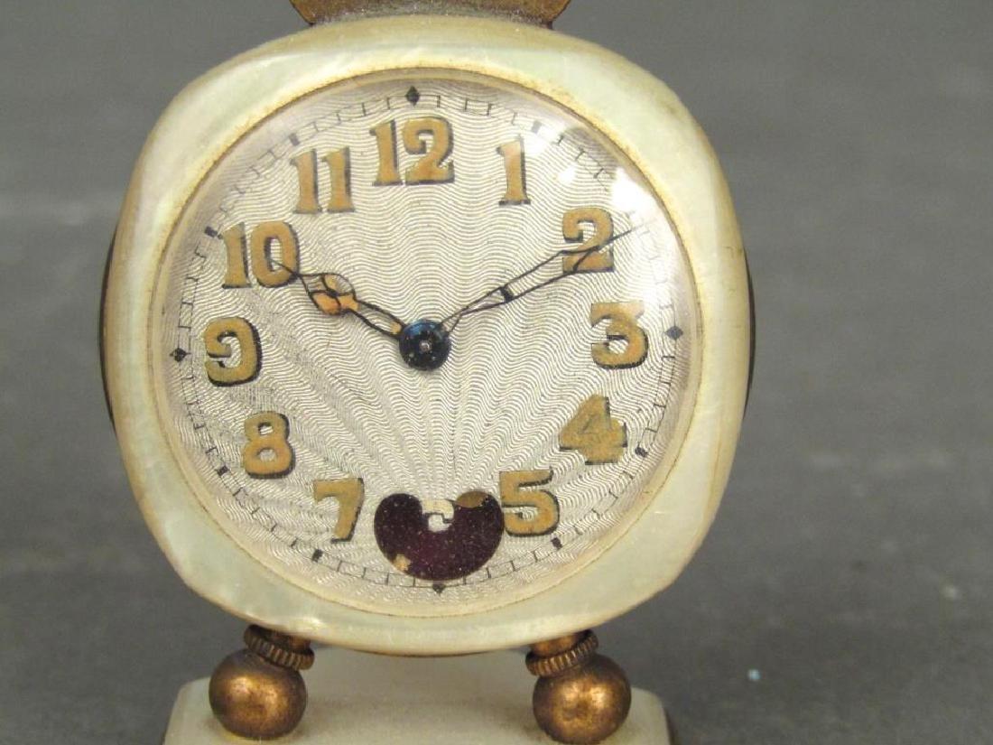 2 Brevet / Metal Dore Clocks - 5