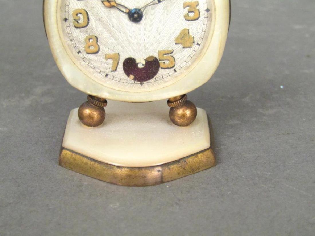 2 Brevet / Metal Dore Clocks - 7