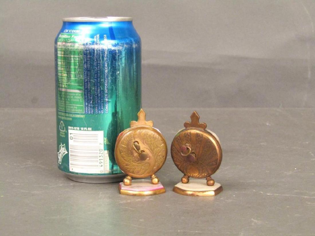 2 Brevet / Metal Dore Clocks - 9