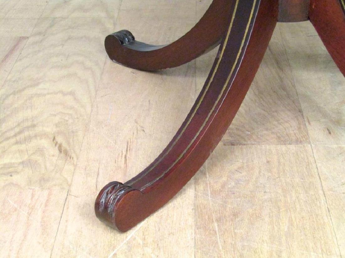 Pair Regency Style 2 Tier End Tables - 7