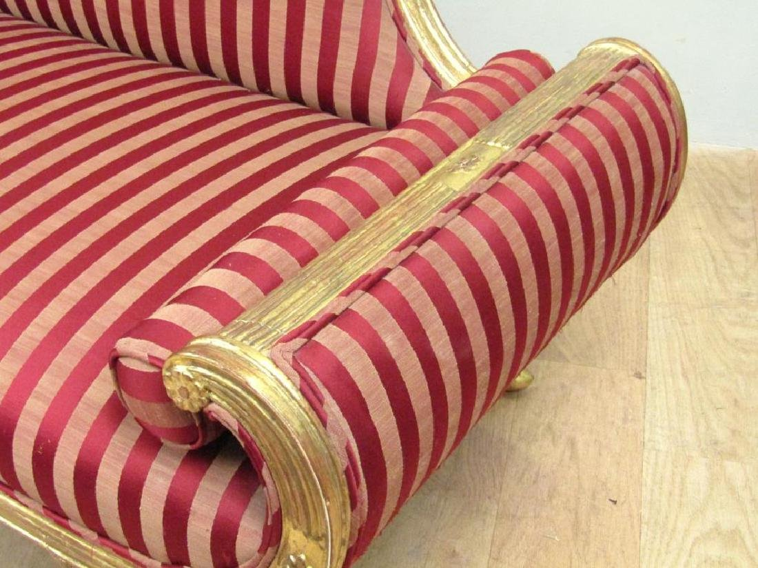 Hollywood Regency Chaise Lounge / Divan - 4
