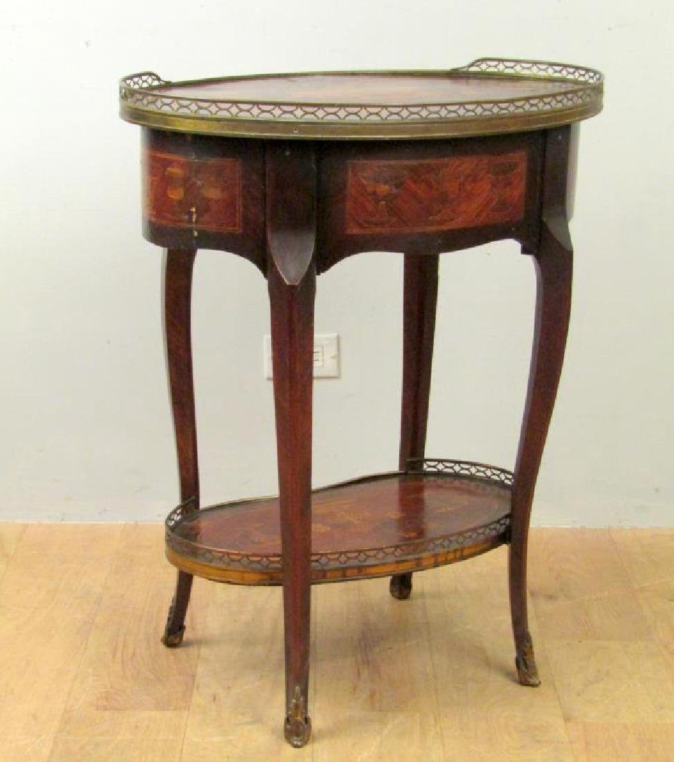 H. B. Herts & Sons Two Tier Table - 6