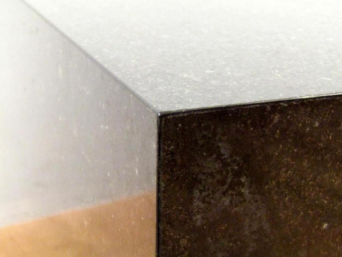 Black Marble Cube Table - 4