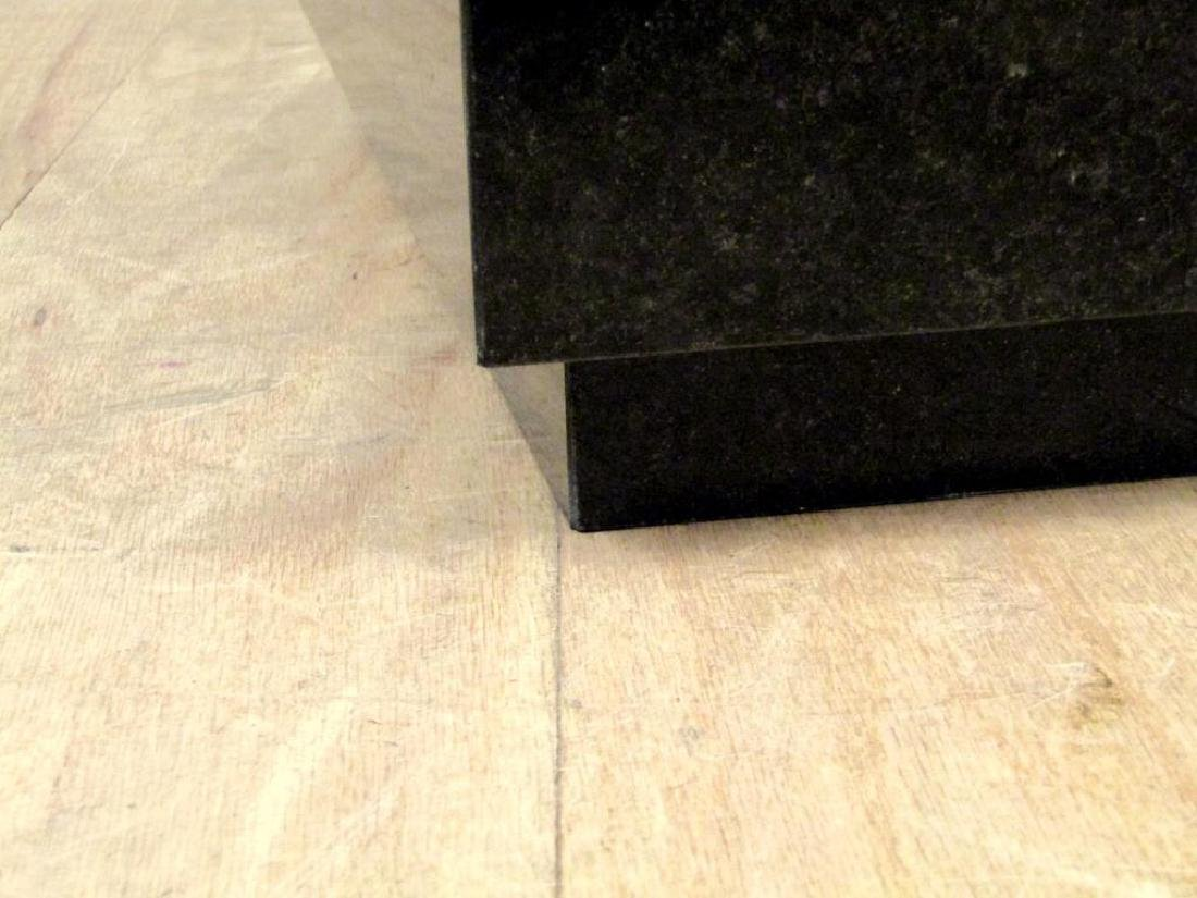 Black Marble Cube Table - 5