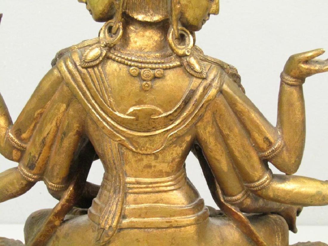 Gilt Bronze Bodhisattva - 5